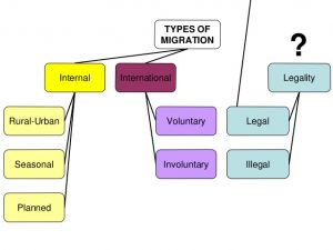 Main types of migration