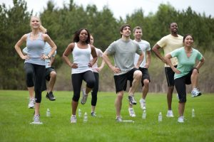 Get involved in more physical activities