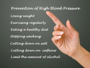 How to prevent blood pressure
