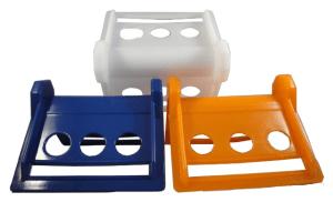 plastic corner protector white orange blue 2 4 inch webbing