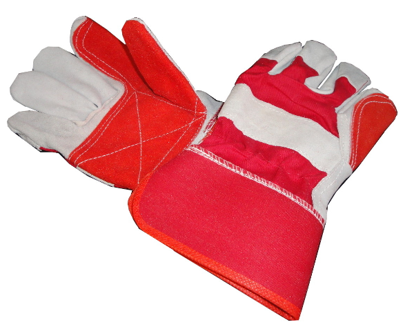 Red/White Rigger Gloves