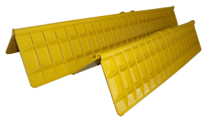 yellow pallet corner protector