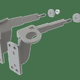 EX-GUARD MOUNTING BRACKET XG-18FCAE - Freightliner New Gen. Cascadia w/ Chrome Bumper (2018 - 2020)