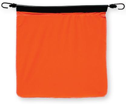 FB500C - FLO-ORANGE COTTON BUNGEE FLAG