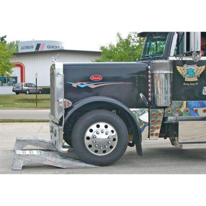 Semi Truck Wheel Riser Service Ramps