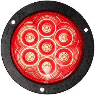 "818R-7 LumenX® 4"" Round LED Stop, Turn & Tail Lights, AMP"