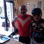 Franco Muratore dopo i primi km