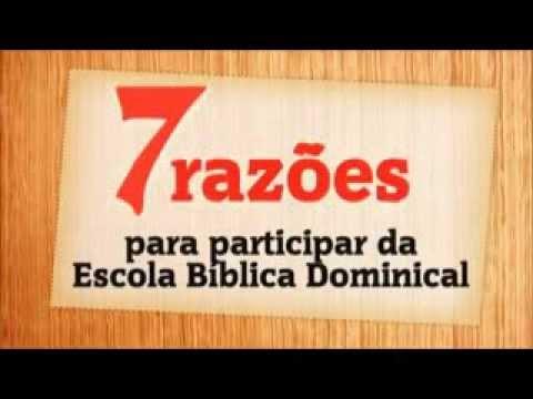 7 Razes Para Ir A Escola Bblica Dominical