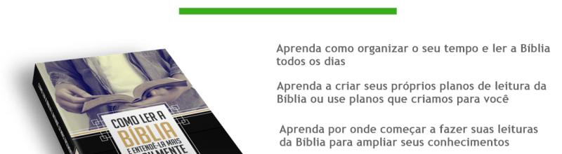 Curso Como ler a Bíblia e Entendê-la mais Facilmente