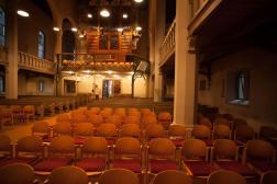 Interior da Igreja Luterana