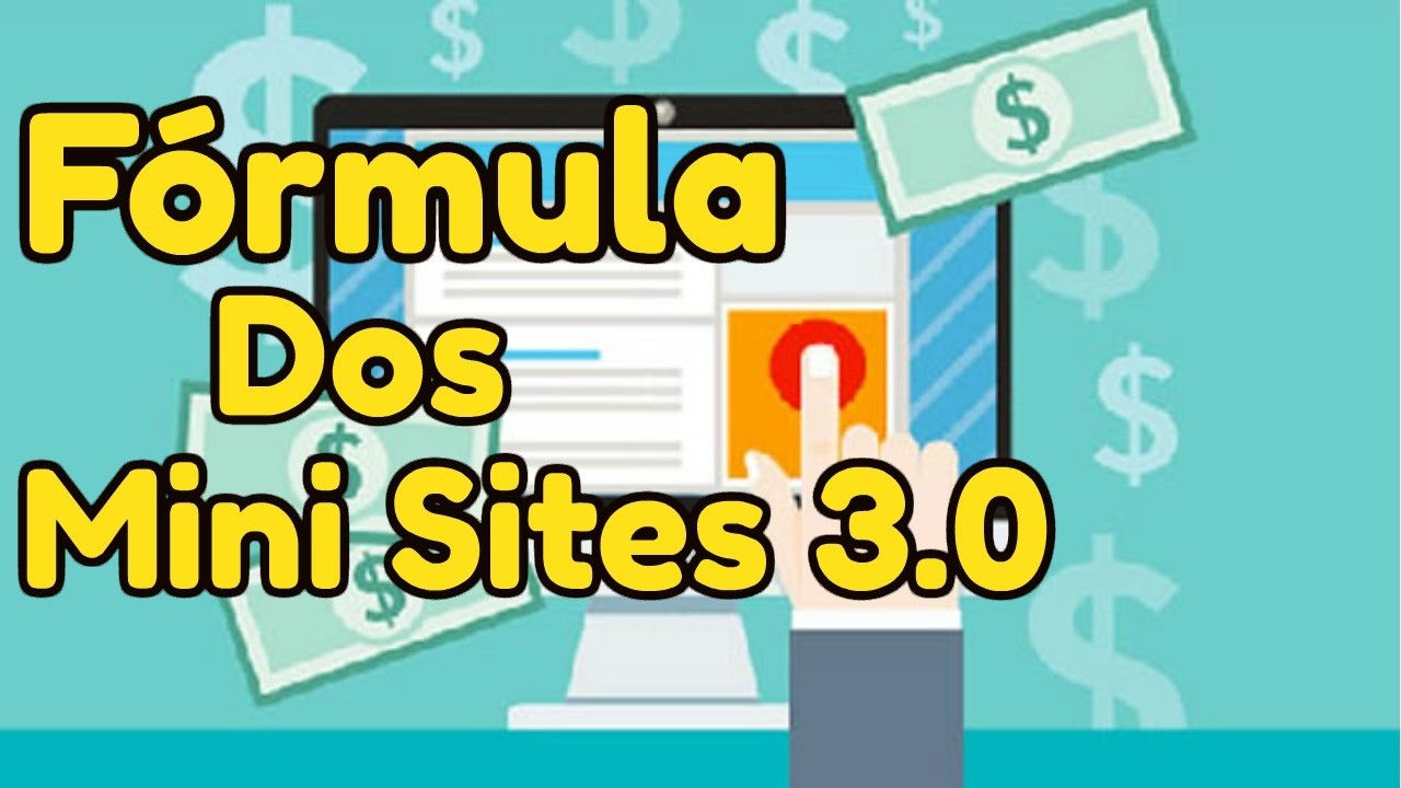 Curso Fórmula dos Mini Sites Funciona