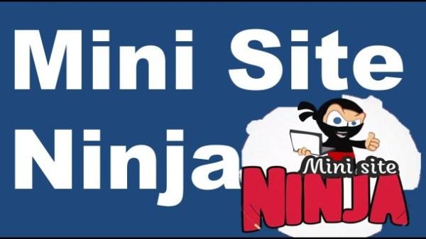 mini sites ninja