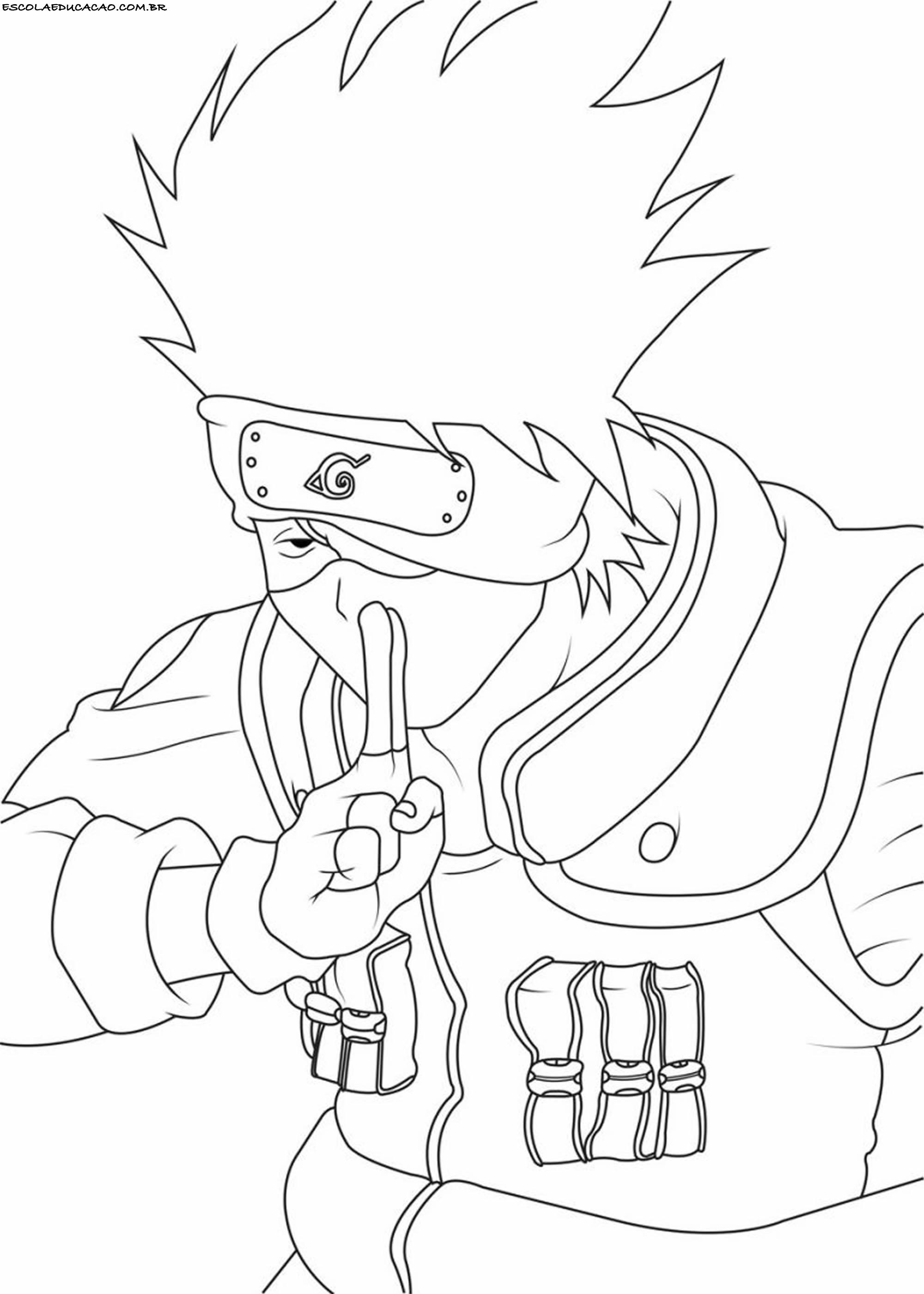 Desenhos Para Colorir Do Naruto Sasuke E Sakura Lifeanimes Com