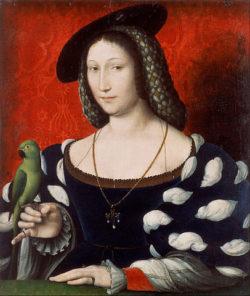Portrait de Marguerite de Navarre attribué à Jean Clouet et l'histoire de la nouvelle