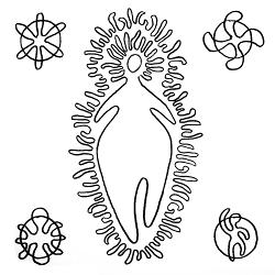 La déesse mère Mari par Josu Goñi