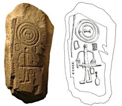 Stèles discoïdales de Cabeza del Buey (Extramadura) - fin de l'âge du bronze