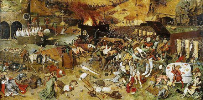 «Le Triomphe de la Mort» par Pieter Brueghel l'Ancien, 1562 - Museo del Prado