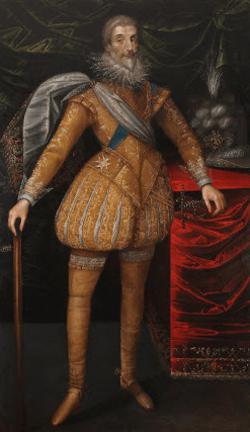 Portrait de Jean-Louis de Nogaret de la Valette, duc d'Épernon, gouverneur des Trois-Évêchés (1554-1642) Début du XVIIe siècle Musée de la Cour d'Or - Metz