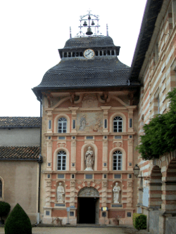 La chapelle de N-D de Garaison (65) où François Lai apprit la musique