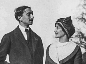 François Mauriac et Jeanne Lafon