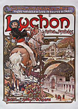 Le train Paris - Luchon