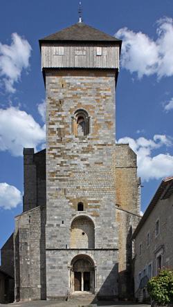 Cathédrale de St-Bertrand - Façade Ouest