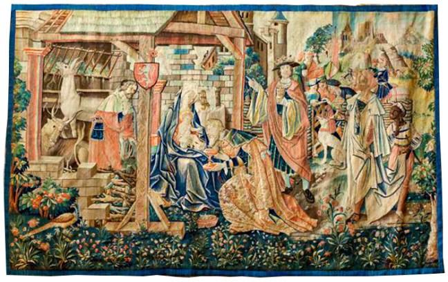 Saint-Bertrand de CommingesL'Adoration des Mages