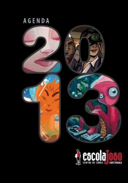 La portada de la Agenda 2013 de la Escola Joso