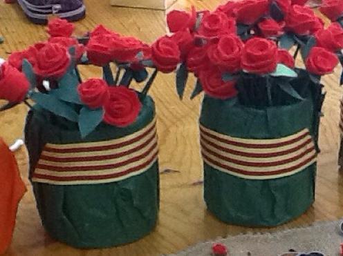 Roses de TXT per Sant Jordi