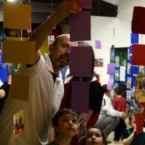 Mostra de Projetos da Educação Infantil.