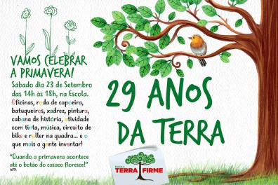 29 anos da Escola Terra Firme