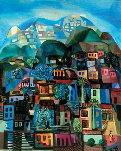 Di Cavalcanti: Favela, 1958.