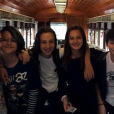 Sofia, Stella, Eduardo, Michaela e Davi - Foto Daniela Carneiro