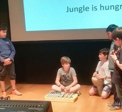 Els Compositors entren a l'aula