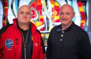 Astronautas gemeos - Scott Kelly e Mark Kelly