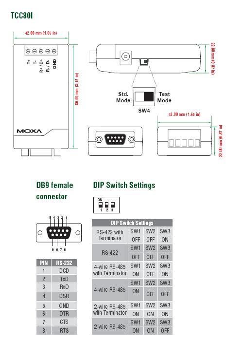 rs 485 wiring diagram for car electric fan moxa tcc-80i