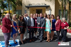 Escondido Chamber of Commerce Ribbon Cutting at Lattitude33