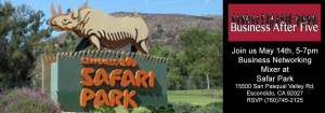 Escondido Chamber of Commerce Safari Park Mixer