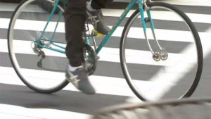 Bicyclist v. Vehicle ends badly for bike rider.