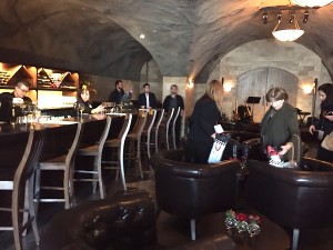 CAVE, Pala Casino's new underground wine venue.