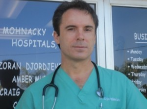 Dr. Zoran Djordjevich, partner and chief medical officer at Carlsbad's Mohnacky Animal Hospital