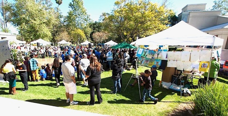 Last year's smART art show at Grape Day Park.