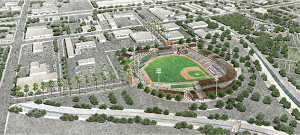 Proposed Escondido's AAA ballpark that was not to be.