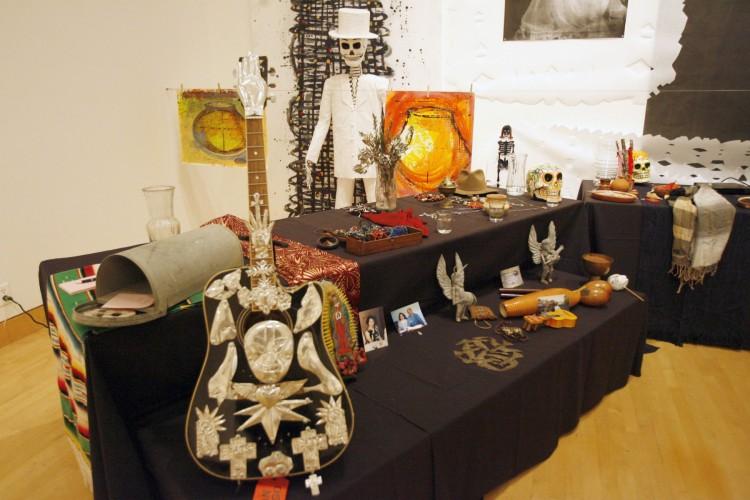 CSUSM Professor Curates Museum Exhibit in Celebration of Día de los Muertos.