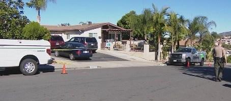 San Marcos Murder scene.