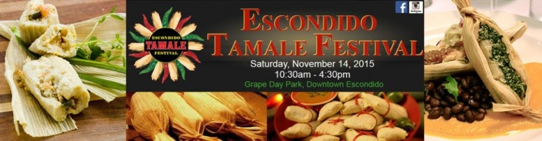 It's all in the details for First Annual Escondido Tamale Festival.