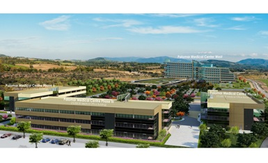 Artist's conception of Escondido Research and Technology Center.