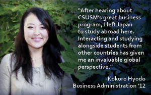 CSUSM Business School testimonial