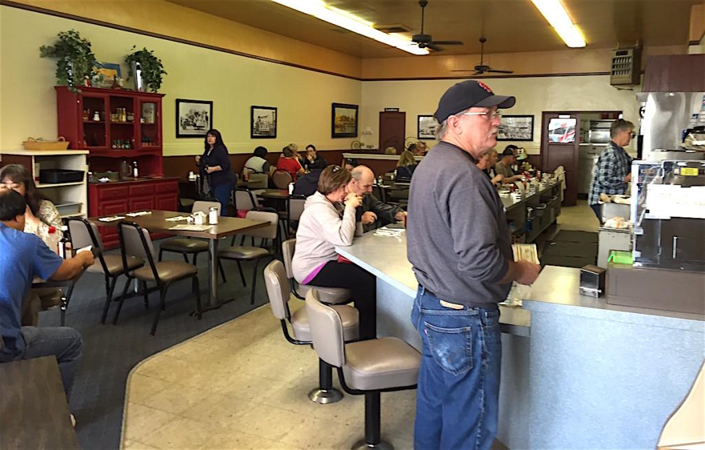 Counter scene at Champion's.