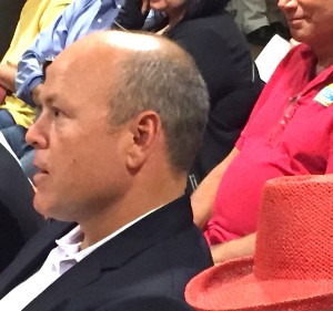 Accretive CEO Randy Goodson at recent meeting to consider Lilac Hills Ranch approval.
